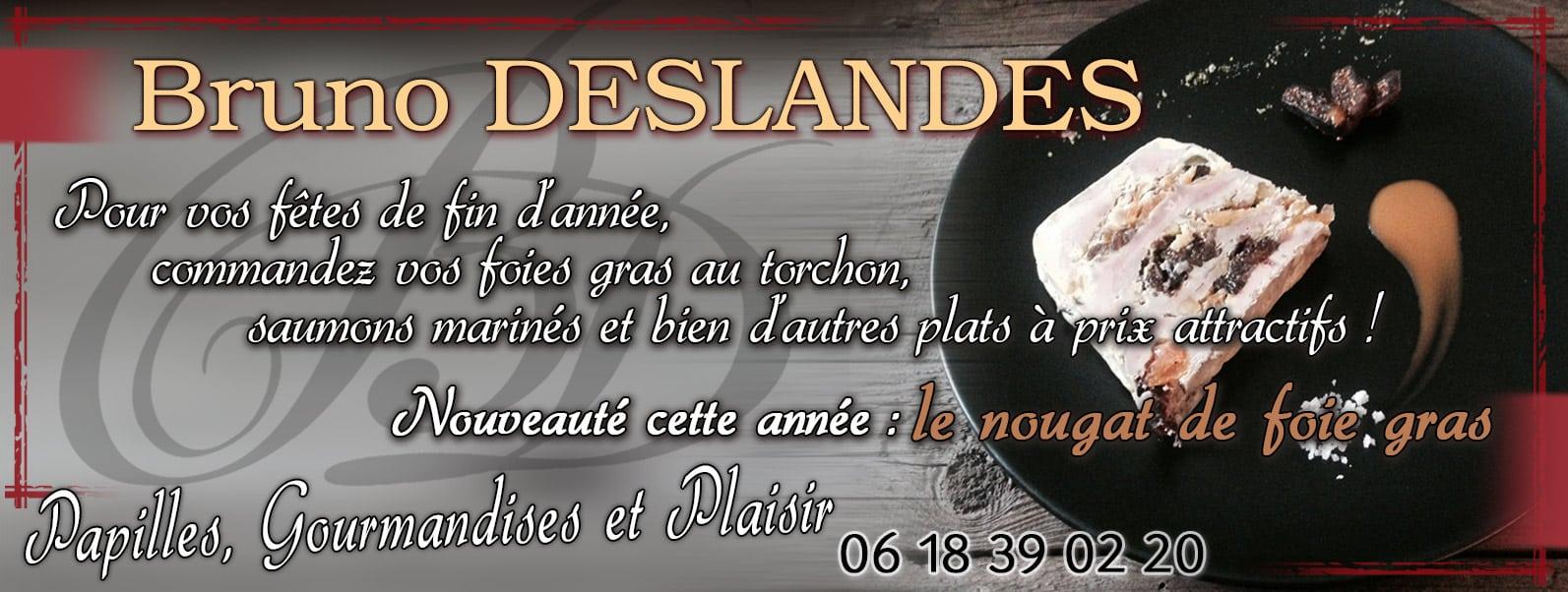 BRUNO DESLANDES Bannière Facebook